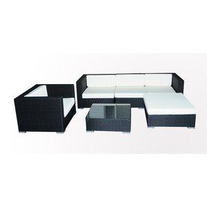 6-tlg. Sofa-Set mit Kissen von IHP24