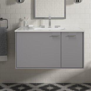 Jute 39 Wall Mounted Single Bathroom Vanity Set By Kohler