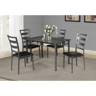 Berke 5 Piece Dining Set