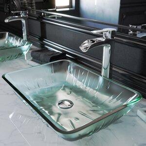Niko Single Hole Bathroom Faucet with Optional Drain Assembly
