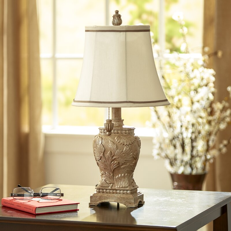 "Andover Mills Perrone 21"" Table Lamp & Reviews"