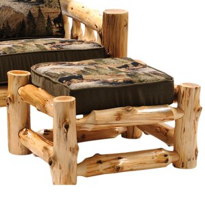 Cedar Chair Ottoman by Fireside Lodge