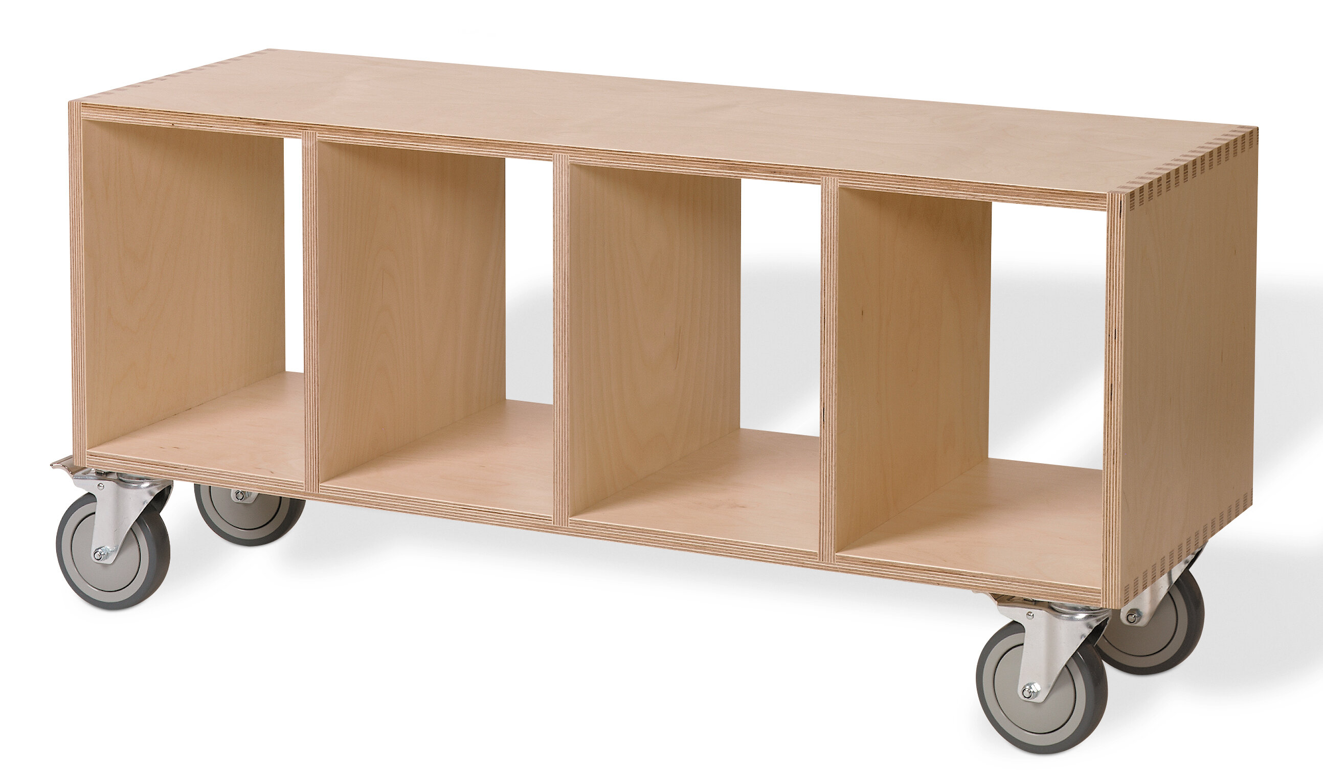 Offi Birch Plywood Storage Bench | Wayfair
