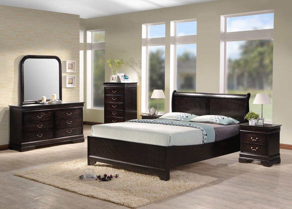 Best Quality Furniture Panel Customizable Bedroom Set Reviews