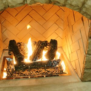 Fireplace Log Sets Youll Love Wayfair - Electric logs for fireplace