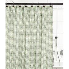 breckan ikat check 100 cotton shower curtain