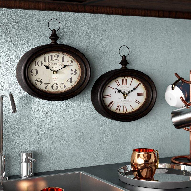 Trent Austin Design Baileyville Round Wall Clock Amp Reviews