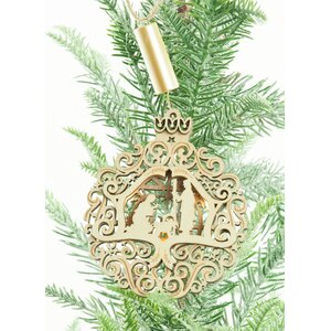 Holy Family Hanging Figurine Ornament (Set of 2)