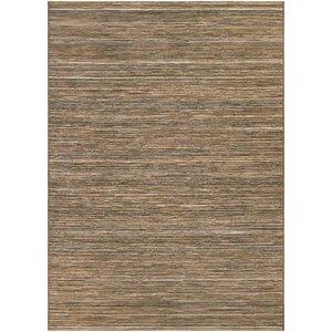 Gillenwater Brown/Ivory Indoor/Outdoor Area Rug