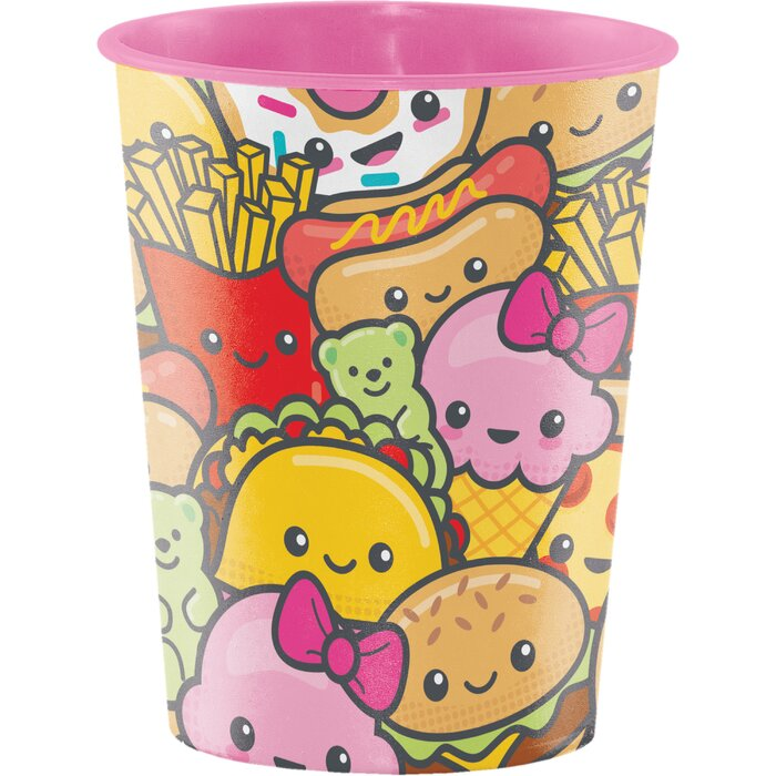 Food Love Plastic Disposable Cup