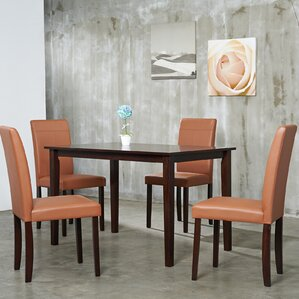 5 Piece Dining Set by Warehouse of Tiffany
