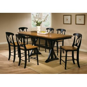 Courtdale 7 Piece Dining Set by Three Posts