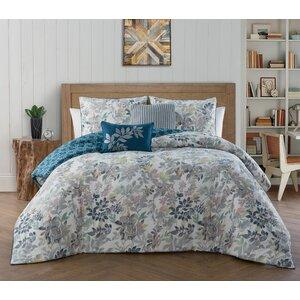 Victoria Classics 5 Piece Reversible Comforter Set