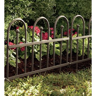 Iron Fence Edging