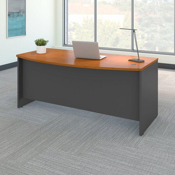 Bush Business Furniture Series C Bow Front Desk Shell U0026 Reviews | Wayfair