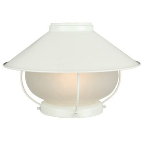 Oakhill 1-Light Bowl Ceiling Fan Light Kit