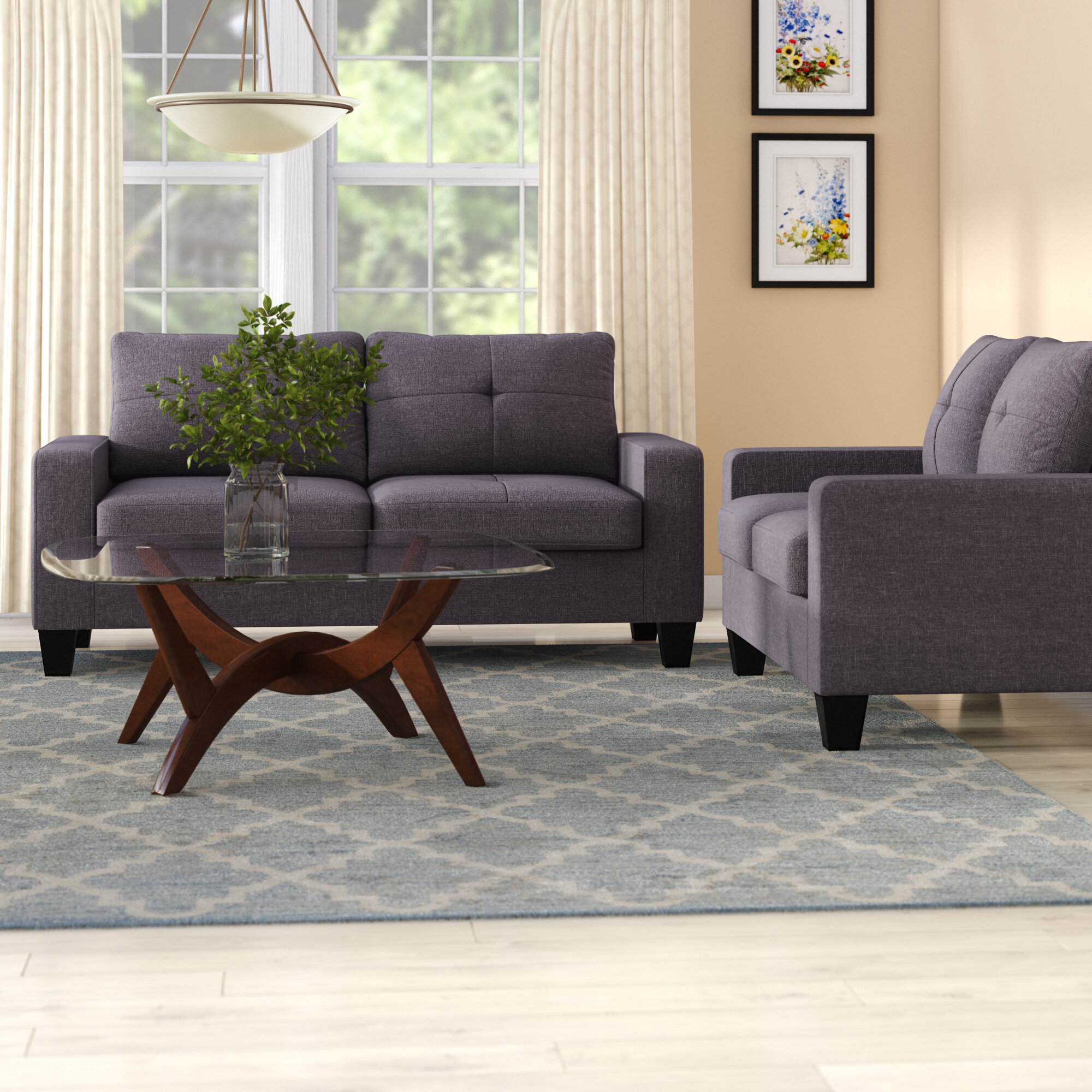Astonishing 2 Piece Living Room Sets Wayfair Home Interior And Landscaping Ologienasavecom