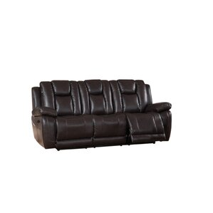 Mickey 2 Piece Leather Living Room Set by Red Barrel Studio