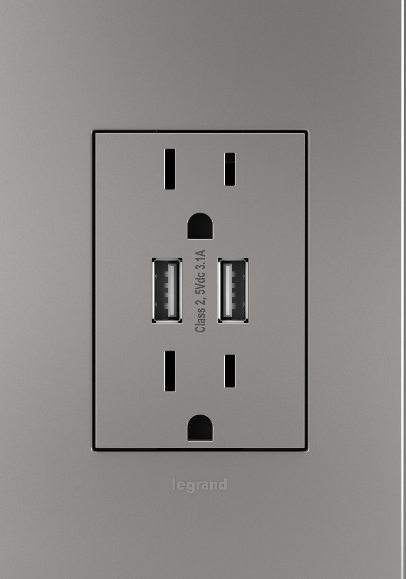 Legrand Adorne® Dual USB Combo Outlet | Wayfair