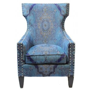 Darrell Wing back Chair by Bungalow Rose