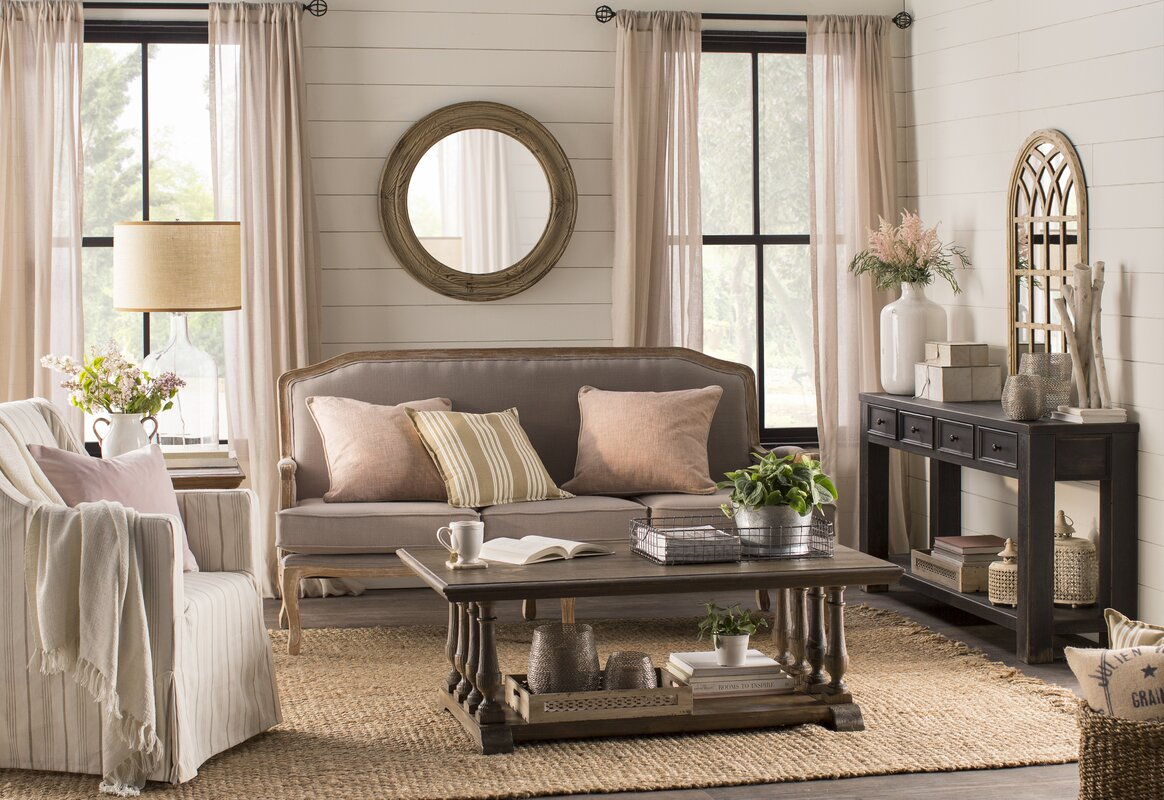 Wall Mirrors For Living Rooms. Cathedral Wall Mirror One Allium Way  Reviews Wayfair