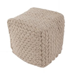Hephzibah Pouf Ottoman by Laurel Foundry Modern Farmhouse