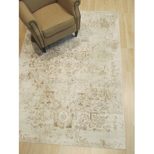 Phares Distressed Ivory Area Rug