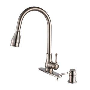 Brixton Single Handle Pull Down Standard Kitchen Faucet