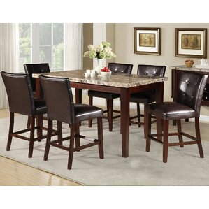 Marble Kitchen & Dining Tables You\'ll Love | Wayfair