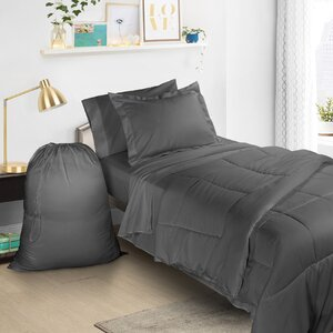 6 Piece Bed-In-a-Bag Set