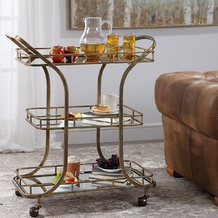 Hallie Serving Bar Cart