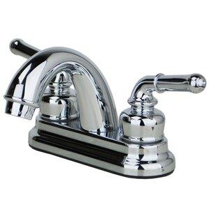 Centerset Double Handle Bathroom Faucet