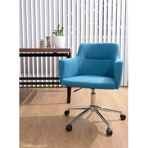 Shultis Contemporary Adjustable Mid Back Desk Chair