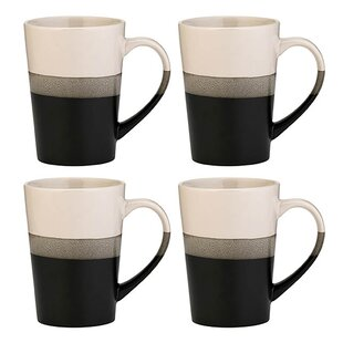 dc84a411f74 Seamus Reactive Glaze Coffee Mug (Set of 4)