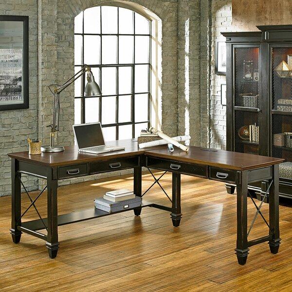 Martin Home Furnishings Hartford L Shape Executive Desk
