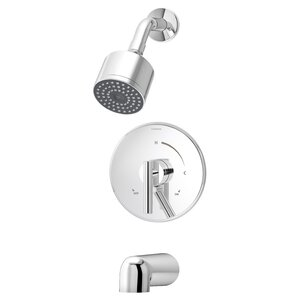Dia Pressure Balance Tub and Shower with Lever Handle