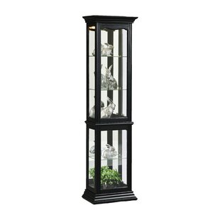 Boatwright Lighted Curio Cabinet