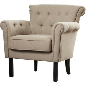 Schofield Upholstered Armchair by Three Posts