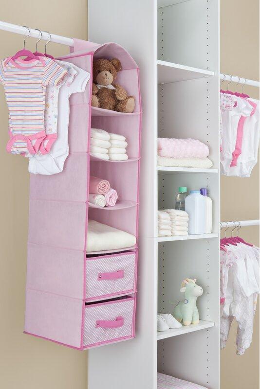... Nursery Closet Organizer Baby Delta Canada Target · Children Nursery  Hanging Organizer With Drawers ...