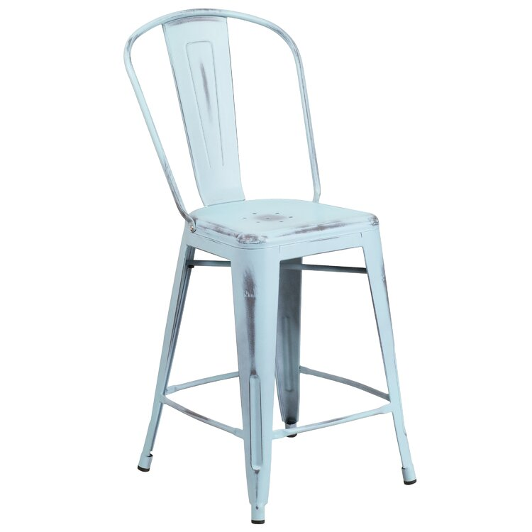 Swell Trent Austin Design Dovercliff 24 Bar Stool Wayfair Squirreltailoven Fun Painted Chair Ideas Images Squirreltailovenorg