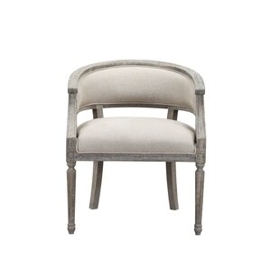 Outen Upholstered Barrel Chair by Lark Manor
