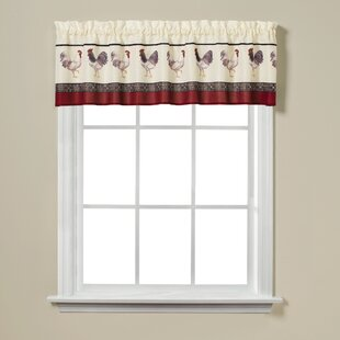 French Country Curtain Valance