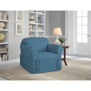 Blue Chair Slipcovers Youll Love Wayfair
