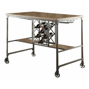 Sloane Wood/Metal Counter Height Dining Table