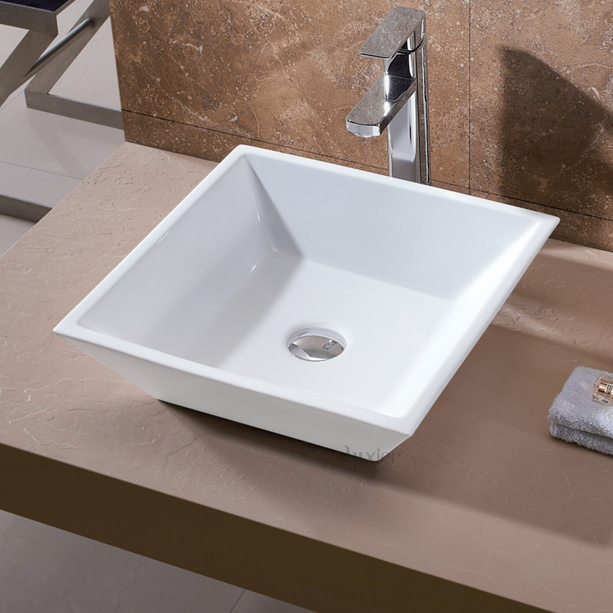 Square Bathroom Sinks Youll Love Wayfair