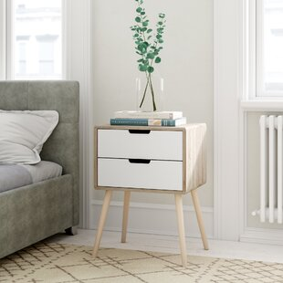 newest 04c25 b6d98 Slim White Bedside Table | Wayfair.co.uk