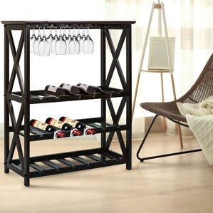 x style 18 bottle floor wine rack