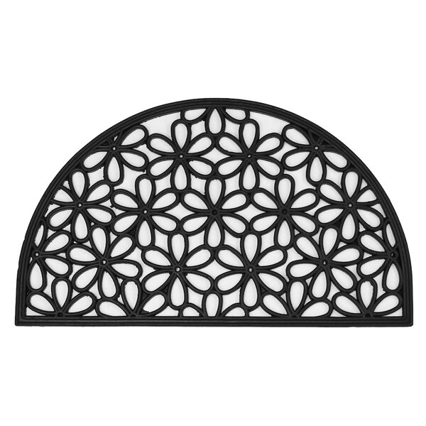 Awesome Envelor Home Half Round Daisy Wrought Iron Doormat U0026 Reviews | Wayfair