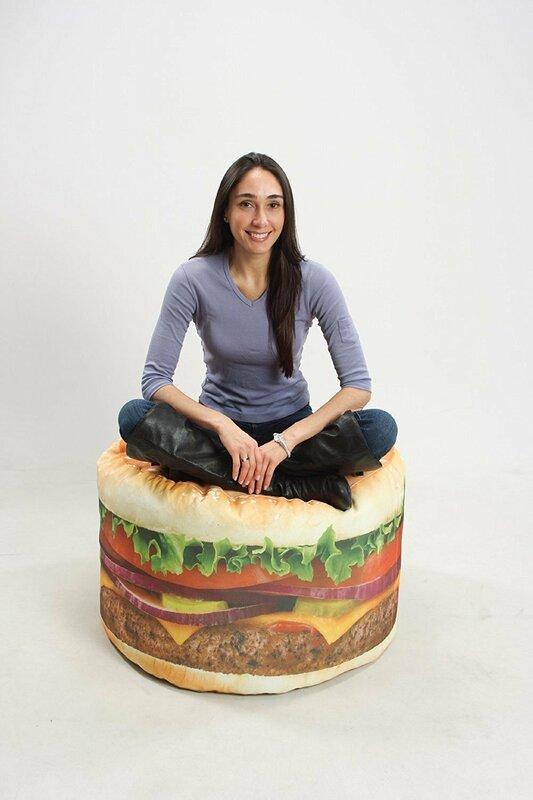 Wow Works Llc Hamburger Bean Bag Chair Amp Reviews Wayfair