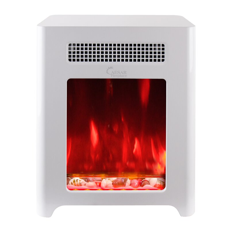Luxury Portable Mini Indoor Compact Freestanding Electric Fireplace